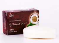 "Мыло Одж Кокос и Мята, 100г ""Oj"" Coconut-Mint Soap"